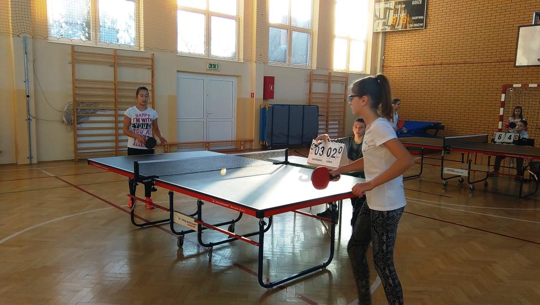 Mistrzostwa Gminy Kozienice w tenisie stołowym dziewcząt