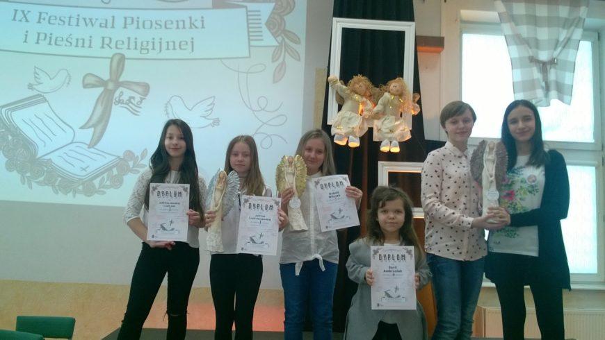 IX Festiwalu Dziecięco – Młodzieżowej Piosenki Religijnej