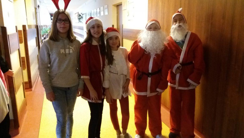 Witaj Mikołaju!!! – Mikołajki w naszej szkole.