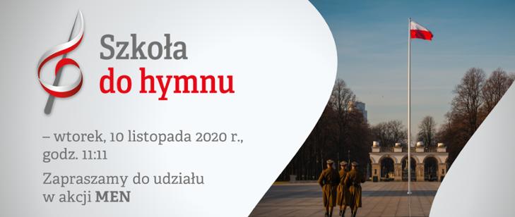 """""""Szkoła do hymnu"""" 2020"""
